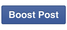 What is a boosted post and how is boosting important?